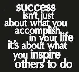 success with a dash of inspriation