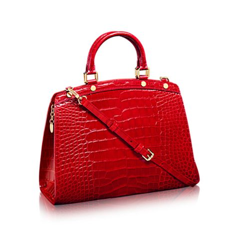 Louis Vuitton bag crocodile red...www.bagvibes.com