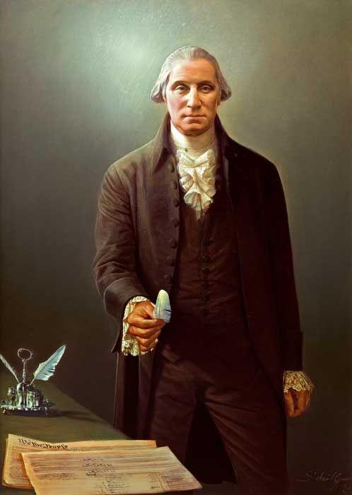 paintings of george washington   Robert Schoeller Painting: George Washington Portrait FP000