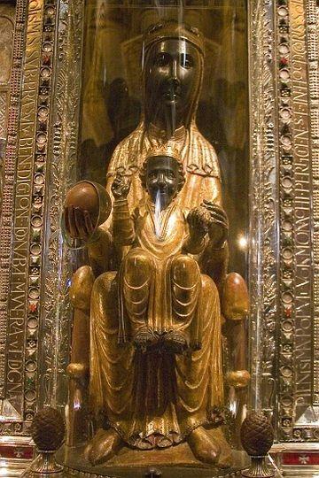 Montserrat,  black madonna