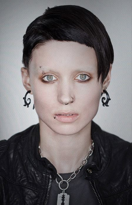 """Rooney Mara as Lisbeth Salander in """"The Girl With The Dragon Tattoo"""""""