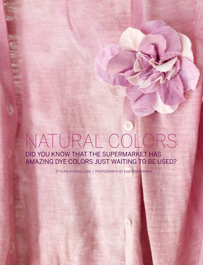 Fruit Dye