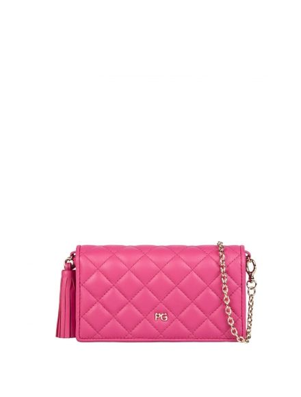 Pink Purificacion Garcia mini bag