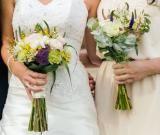 boho wedding bouquet style by La FLorista