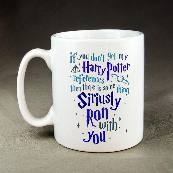 If You Don't Get My Harry Potter Quote Mug - 11oz Ceramic Coffee Tea Mugs #Handmade