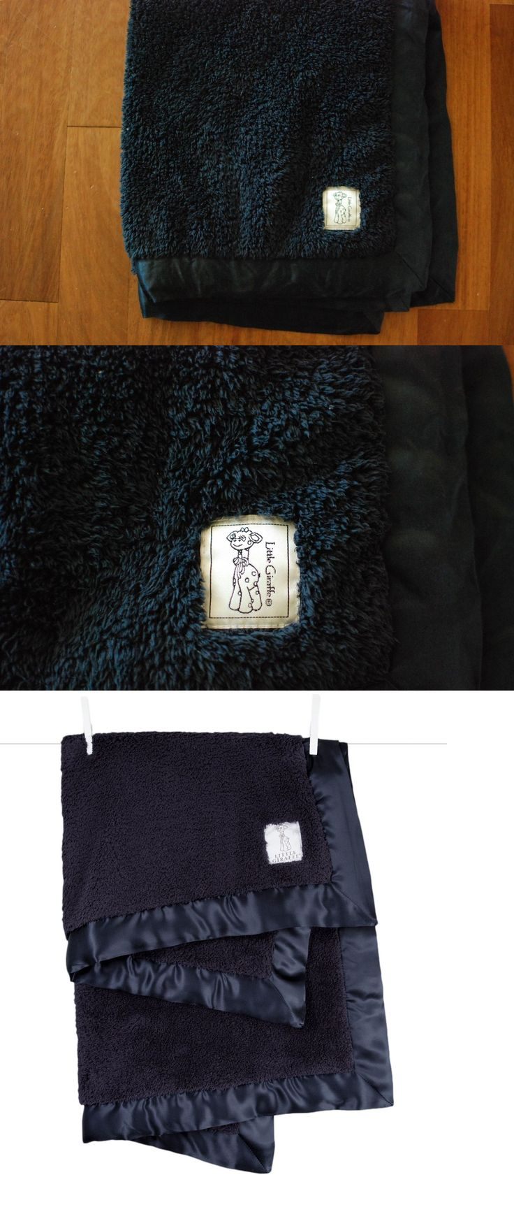 Blankets and Throws 3081: Little Giraffe Blue Chenille Stroller Blanket Baby Gift 29X35 Nwot -> BUY IT NOW ONLY: $38 on eBay!