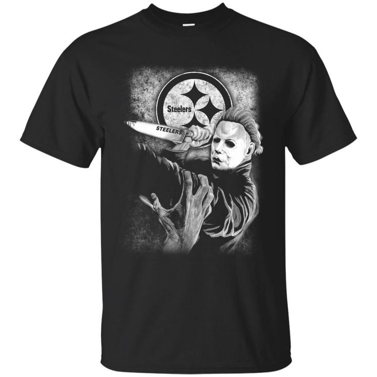 Michael Jason Myers Friday The 13th Pittsburgh Steelers Halloween T Sh – Best Funny Store