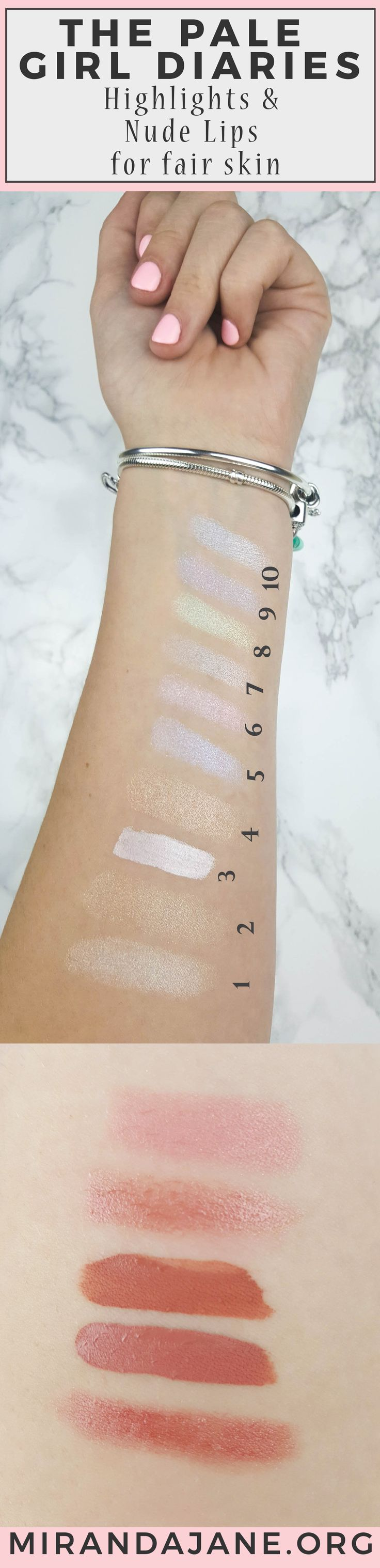 Makeup Tips for Pale Girls | Best Highlighters for Fair Skin | Nude Lipsticks for Pale Skin | Makeup Tricks for Fair Skin