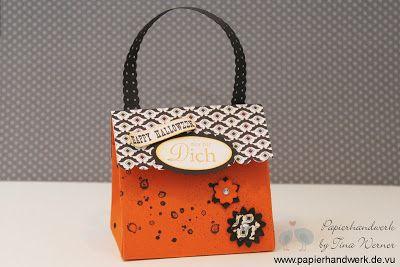 - Papierhandwerk -: Halloween Woche - Tag 2