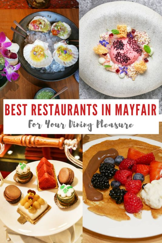 Mayfair is known as one of the most upmarket areas in London, with its elegant boutiques and art galleries. It's also home to some of the top restaurants in the capital, ranging from casual all-day eateries to Michelin starred fine dining. We're sharing the best restaurants in Mayfair, London