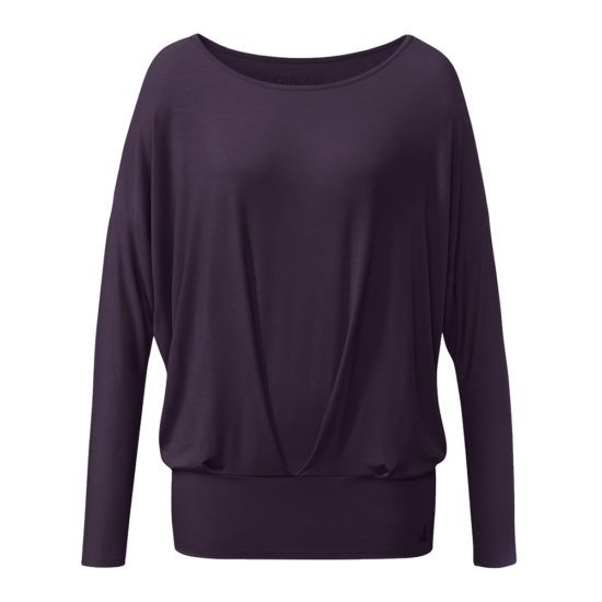 curare Long sleeve aubergine