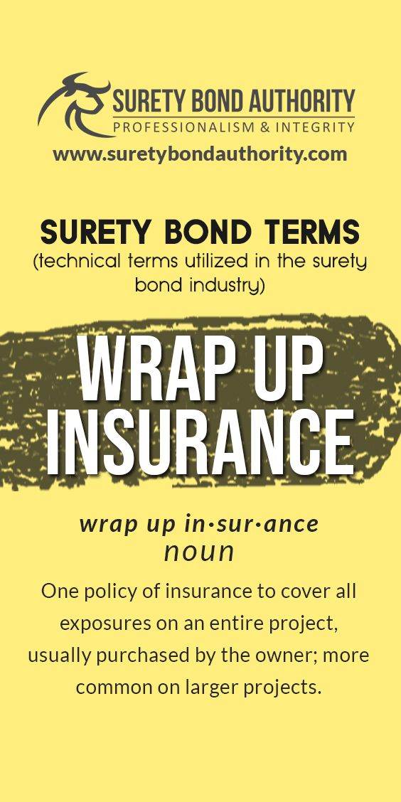 Surety Bond Glossary Bond Glossary Definitions