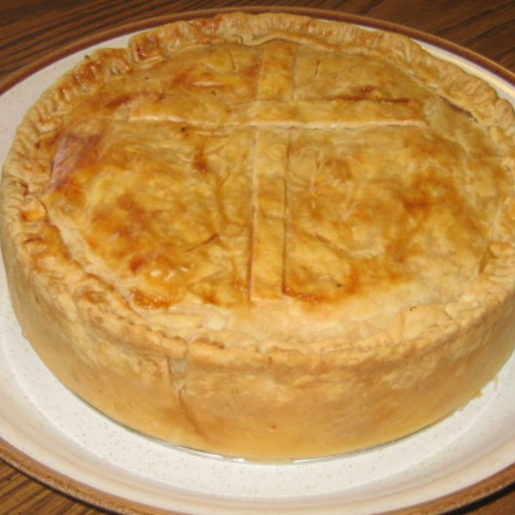 Italian Easter Pie (Pizza Chena): Easter Dinners, Italian Meat, Pies ...