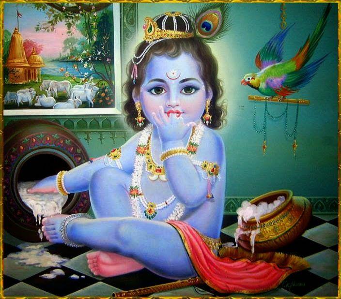 17 Best Ideas About Baby Krishna On Pinterest