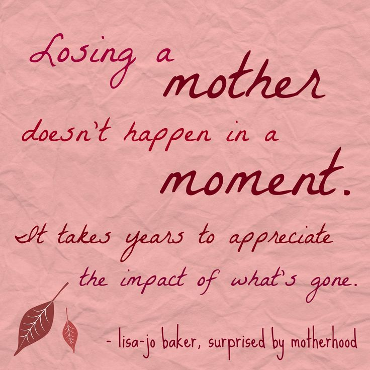 Quotes About Losing a Mother | Related post: When You're Going Through a Deep, Dark Valley