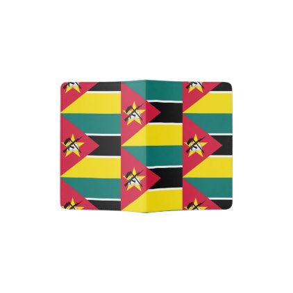 #Mozambique Flag Passport Holder - cyo customize design idea do it yourself
