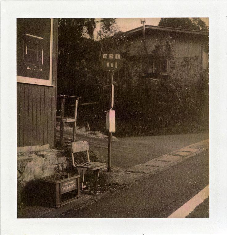 https://flic.kr/p/qMjL97 | Kamogawa, Chiba | Polaroid 190, Chocolate