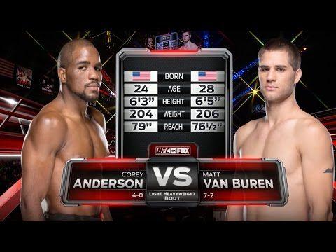 Fight Night London Free Fight: Corey Anderson vs Matt Van Buren