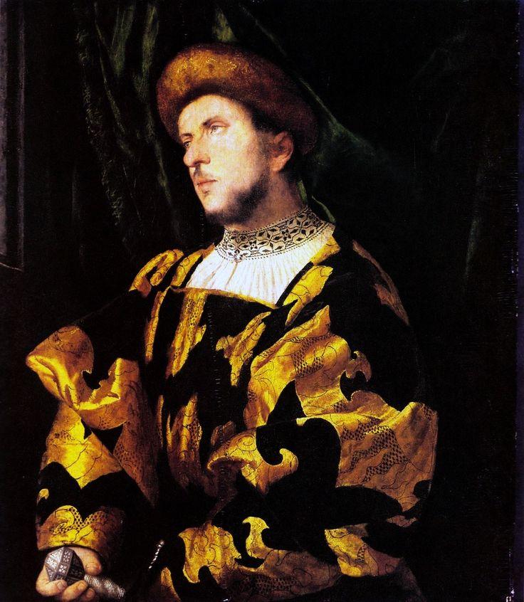 Girolamo Romani (Romanino), Portrait of a Gentleman, c. 1521-2