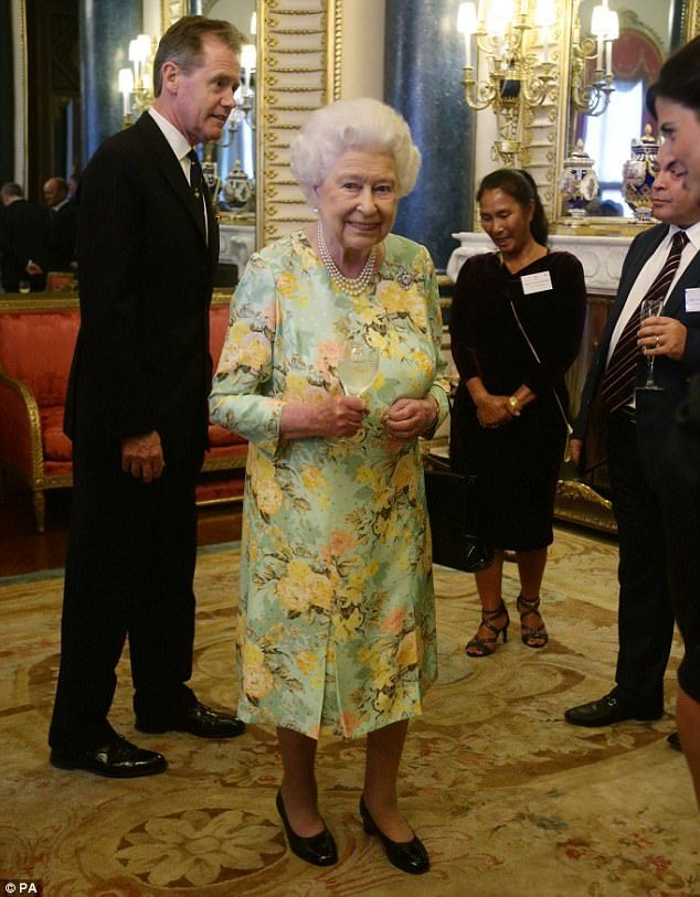 The Queen was on top form as she and Prince Philip welcomed businessmen and women to Buckingham Palace at a reception for winners of The Queen's Awards for Enterprise 11 Jul 2017