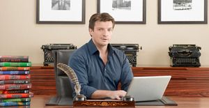"CASTLE - ABC's ""Castle"" stars Nathan Fillion as Rick Castle. (ABC/BOB D'AMICO)"