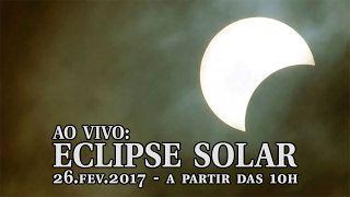 AO VIVO: Eclipse solar visto do Brasil - YouTube