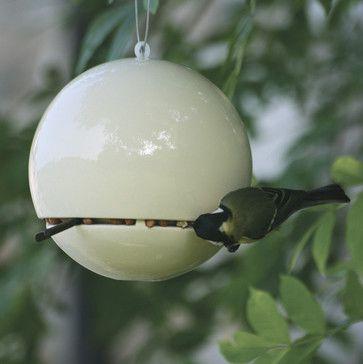 Birdball Peanut Feeder - contemporary - bird feeders - HAUS