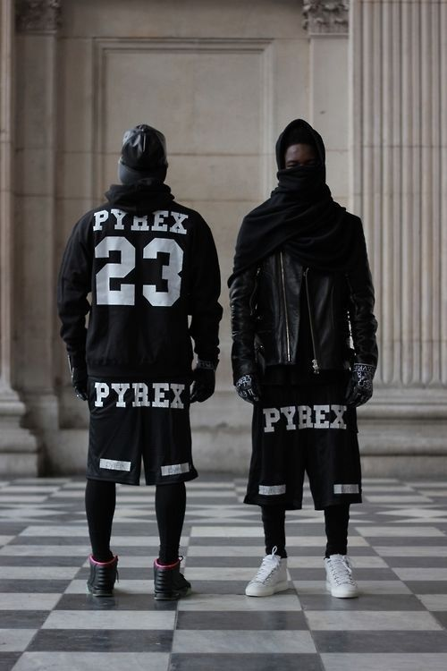 Pyrex Vision Kanye Champion Short Sport Hip-Hop Ventilate Unisex Pants Shorts XL
