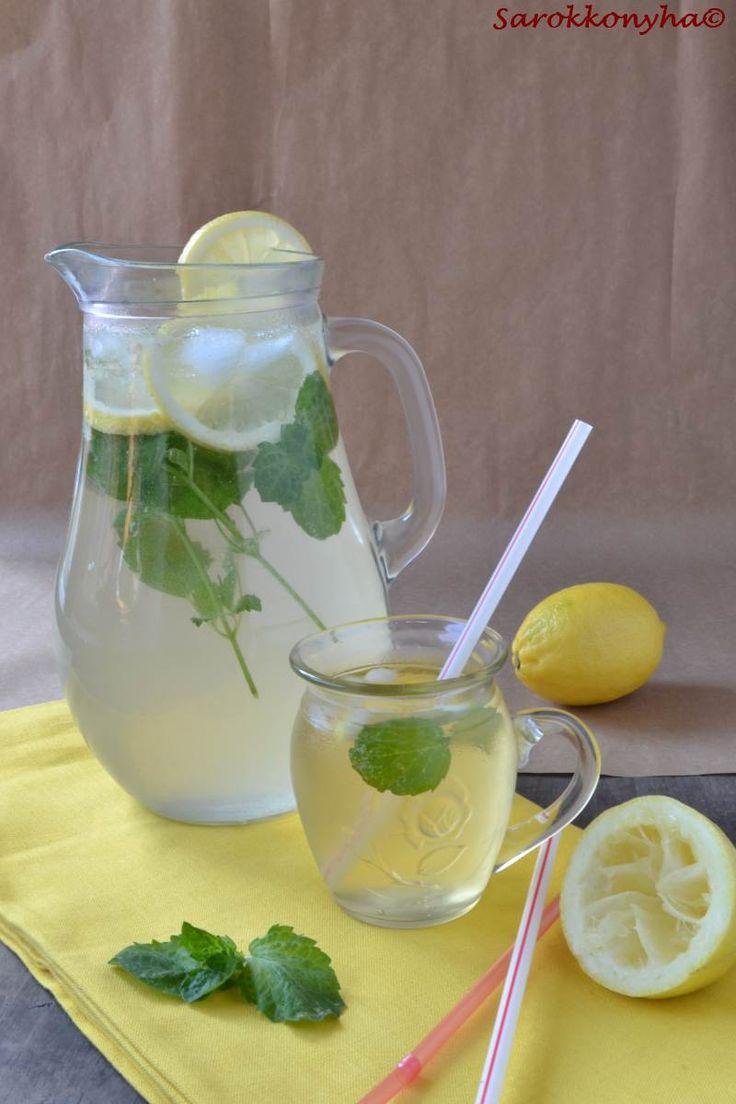 Citromfüves, mentás szirup és limonádé
