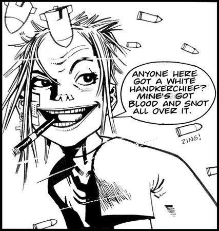 Frenetic Arts - Bandes dessinées - Critique Tank Girl - Les Origines de Hewlett & Martin
