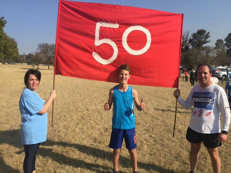 50th Parkrun at Ebotse