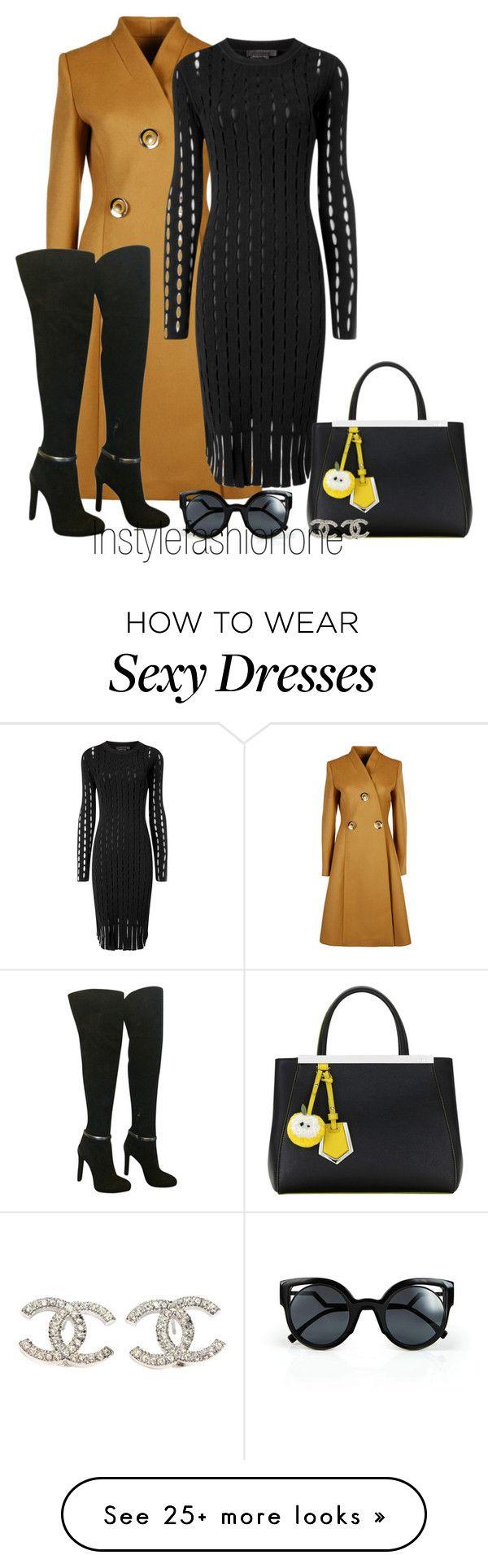 """sexy"" by stylish1475 on Polyvore featuring moda, STELLA McCARTNEY, Alexander Wang, Fendi, Chanel, women's clothing, women, female, woman y misses"