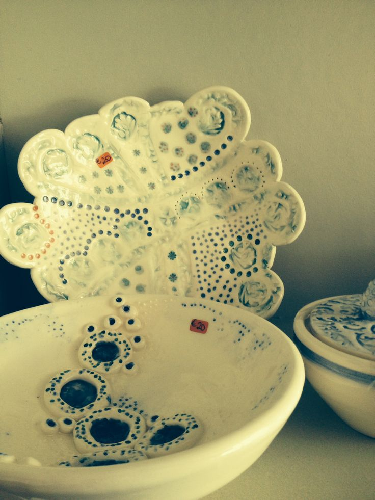 New pieces from Mount Brandon Pottery, Graignamanagh