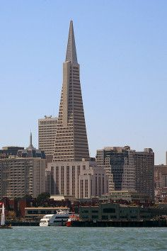 The Transamerica Pyramid is a recognized landmark worldwide located right in San Francisco.