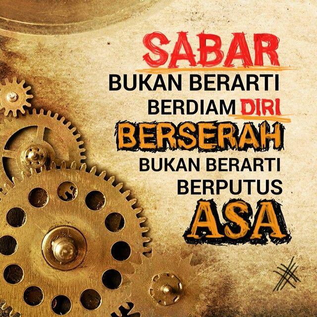 Sabar & Berserah