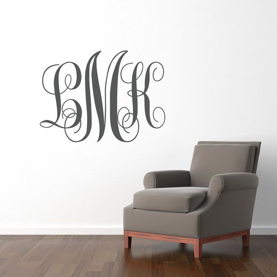 Monogram Wall Decor Ideas : Best monogram wall ideas on picture
