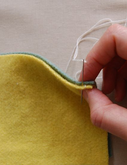 Fishtail stitch for felt patchwork  The Purl Bee is a craft blog created for you by Purl Soho where we publish ideas for you to knit, crochet, sew, stitch and more! You can view our projects below.