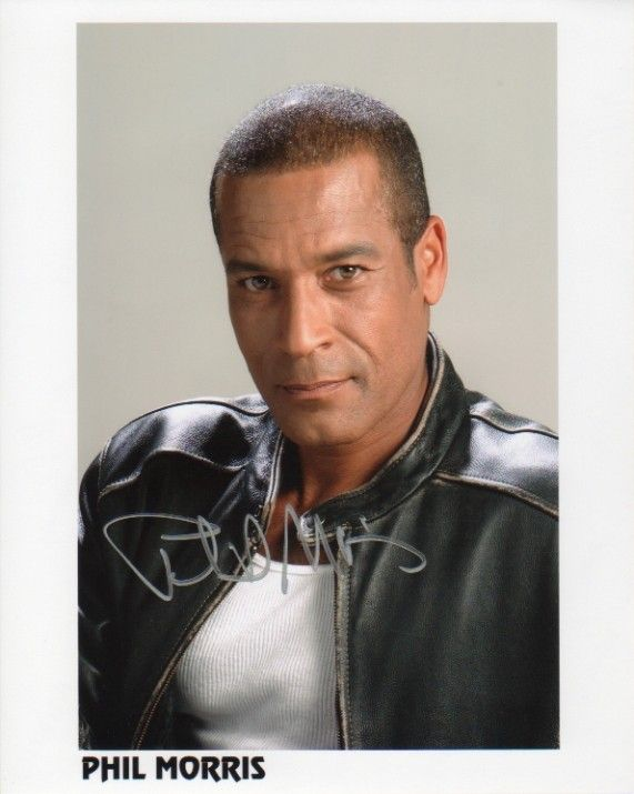 Phil Morris Autographed Photo #3 | The Away Mission