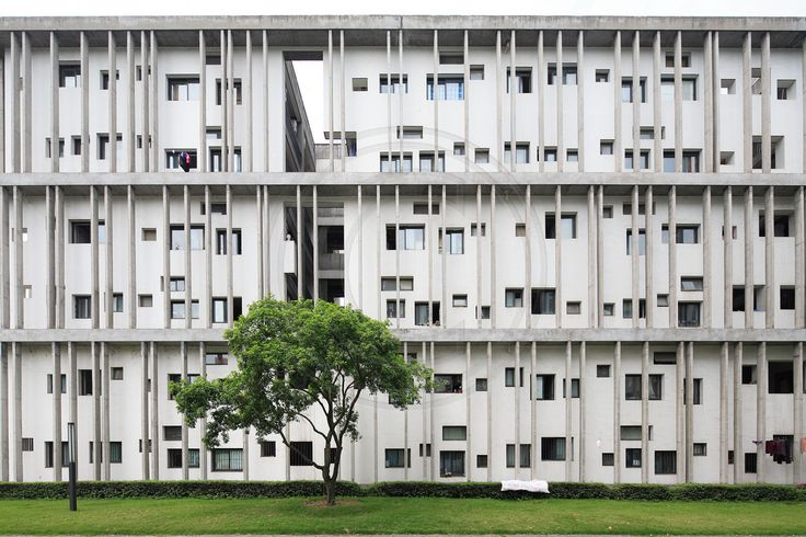 Detail of the Student Dormitory, Xiangshan Campus