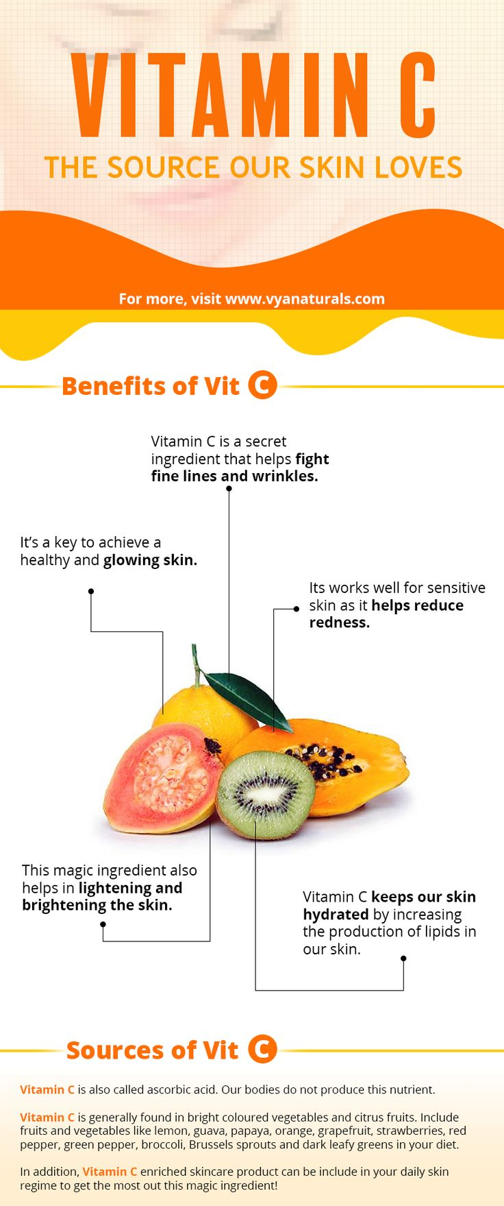 Why  our skin  loves Vitamin C