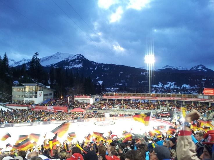 Auftaktspringen der Vierschanzentournee in Oberstdorf.