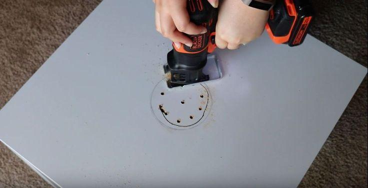 DIY Ikea Chalkboard Activity Table