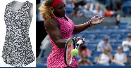 This will stay remembered! Bold animal print for Serena Williams's US Open 2014 campaign #Nike