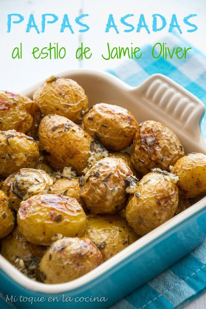 Mi toque en la cocina: Papas asadas al estilo de Jamie Oliver
