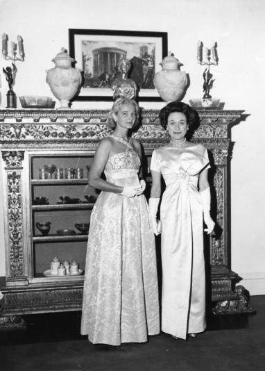 C.Z. Guest in Palm Beach with the Duchess of Windsor