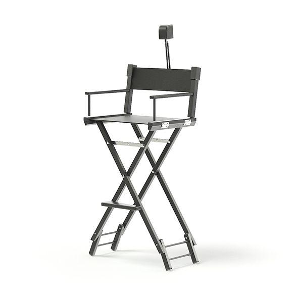 Makeup Chair 3d Model Makeup Chair Black Makeup Chair Black Makeup