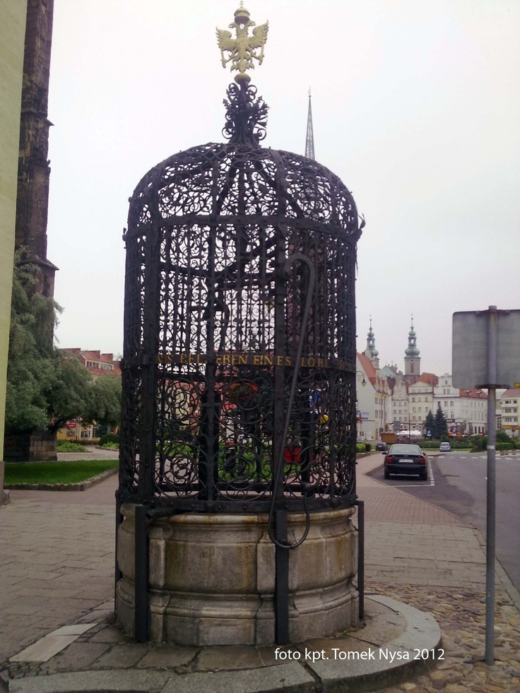 File:Water well in Nysa, Poland.jpg