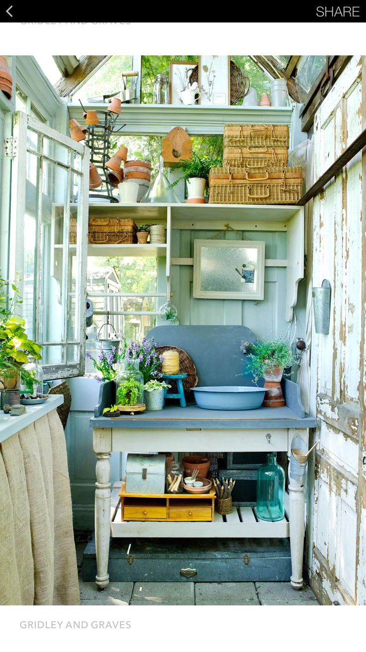 Rustic She Shed or Garden Shed