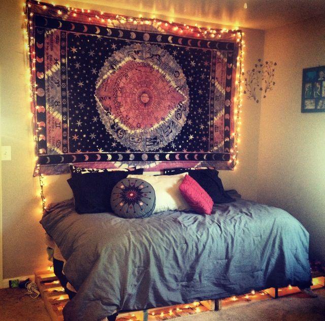 #tapestry #bedroom | girls only allowed | Pinterest