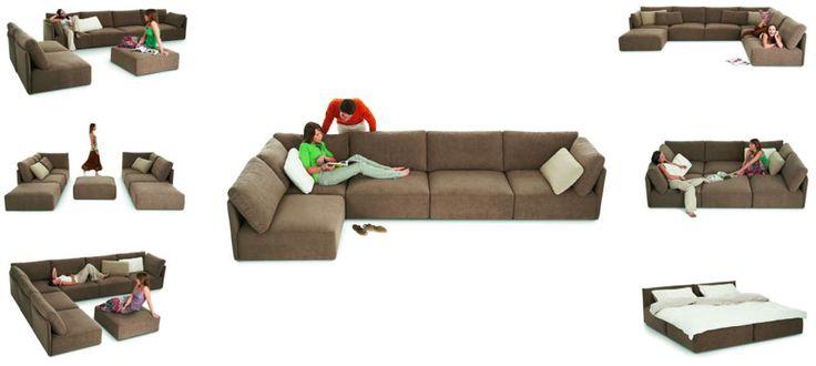 King Furniture: Pronto modular lounge system